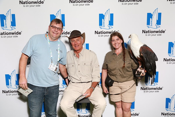 Meeting Jack Hanna at the VMX 2018
