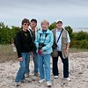 Diane McCall, Neva Scheve, Janice Huff, Kathy Green. 2015 trip to  Beaufort, NC.