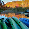 Canoes and Reflections - Diane McCall