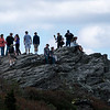 Grandfather Peak - Field Trip to Boone Area