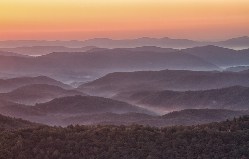Blue Ridge in the Morning - Dave Powers