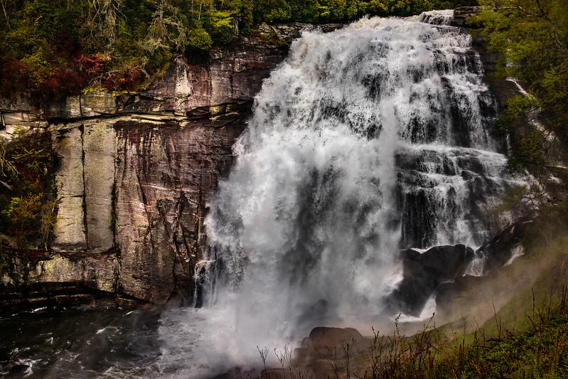 John German -Rainbow Falls on Horsepasture River