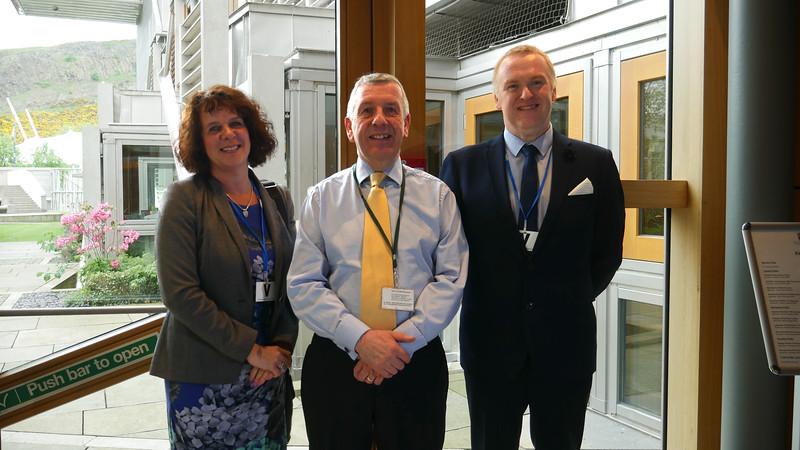 David Stewart MSP with Delegates