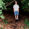 This photo from a visit in the 1990s shows a path in the woods above the river shore. Arnold and Andre conferred in the dark of night on one of these paths.