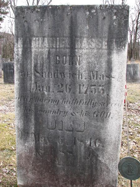 Bassett's gravestone