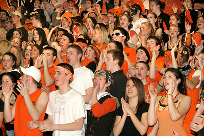 3/10/07. Hooper foto. Sports. The Conant crowd was loud.