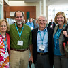 Susan Neill, Dave Mills, Norm Crouch and Lou Turner long-time public health laboratory leaders