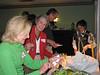 Marge Alia, Anne Reiley & Joel Gardner get some sustenance