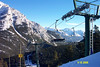 Norquay--190 acres with a vertical drop of 1,650 feet.  The North American area is black and double black diamond.