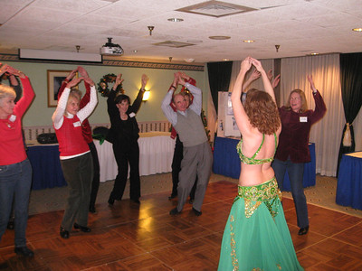 Dec '08 Belly Dancing!