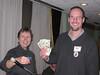 Amos K picks up his 50-50 Ski Lotto winnings!