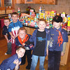 "Tigers ""Scouting for Food"" contribute toward the Pack exceeding 1 ton April 2008."