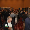Exhibit Hall druing the Welcome Reception
