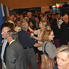 The Exhibit Hall is packed as members meet up wth old friends at the Welcome Reception