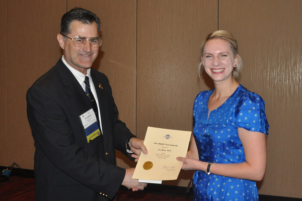 AMSRO Travel Scholarship and the  Jeffrey R. Davis International Aerospace Medicine Scholarship