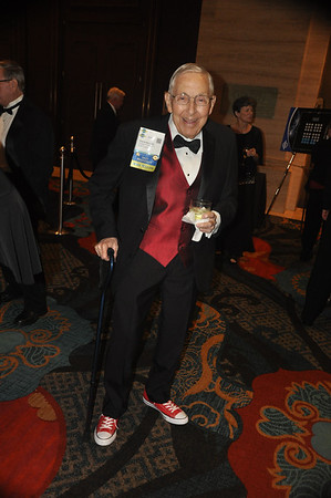 Dr. Chuck Berry is rocking those red sneakers!