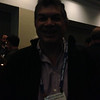 UNAM member representative Enrique Cabral at the geodesy section reception, hosted by UNAVCO, at AGU 2013.