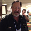 USArray Alaska manager Brian Coyle at the geodesy section reception, hosted by UNAVCO, at AGU 2013.