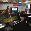 UNAVCO booth setup for the 2016 American Geophysical Union fall meeting. (Photo/Aisha Morris, UNAVCO)