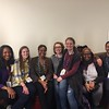 A few of the 2016 interns meet for a group photo. (Photo/Aisha Morris, UNAVCO)