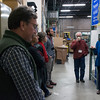 Module authors take a tour of the UNAVCO facility with Beth Pratt-Sitaula (UNAVCO) during the 2018 GEodesy Tools for Societal Issues (GETSI) Materials Development Workshop.  Boulder, Colorado.  February 9, 2018.  (Photo/Daniel Zietlow, UNAVCO)