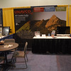 The new 10 foot UNAVCO booth, set up and ready to go for GSA.