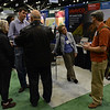 Busy booth time at the 2014 GSA in Vancouver, B.C. (Photo/Beth Bartel, UNAVCO)