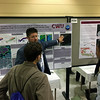 2014 RESESS intern Wesley Weisberg presenting at the 2017 annual meeting of the Geological Society of America.  October 23, 2017.  Seattle, Washington.  (Photo/Aisha Morris, UNAVCO)