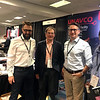 UNAVCO staff members Ken Austin, Glen Mattioli, Chris Walls, and Karl Feaux attend the 2018 meeting of the Seismological Society of America.  May 15, 2018.  Miami, Florida.