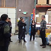 2016 Science Workshop attendees participate in a tour of the Boulder UNAVCO facility led by Joe Pettit. (Photo/Melissa Weber, UNAVCO)