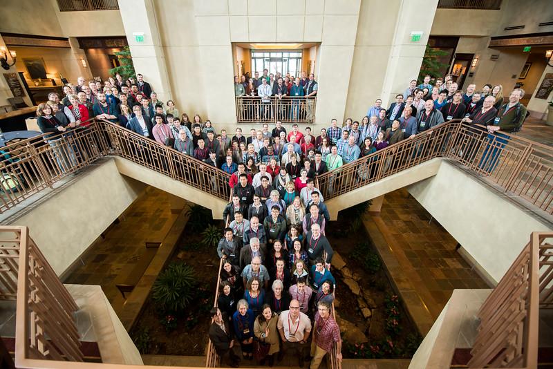 Participants of the 2016 UNAVCO Science Workshop. (Photo/Jesse La Plante)