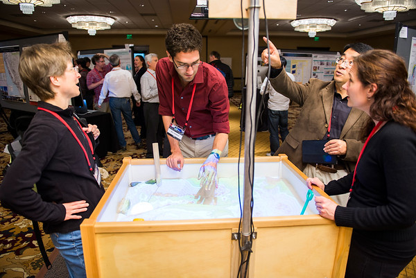 Poster Session & EnGAGE Interactive Space, 2016 Science Workshop
