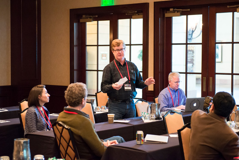 Special topic session (STS) on UNAVCO Support of Broader Impacts at the 2016 UNAVCO Science Workshop. (Photo/Jesse La Plante)