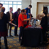 Registration during the 2018 UNAVCO Science Workshop.  March 27, 2018.  Broomfield, Colorado.  (Photo/Daniel Zietlow, UNAVCO)