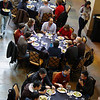 Lunch time at the 2018 UNAVCO Science Workshop.  This is a great time for our community to network.  March 28, 2018.  Broomfield, Colorado.  (Photo/Daniel Zietlow, UNAVCO)