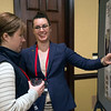 Showing off our science!  Poster session of the 2018 UNAVCO Science Workshop.  March 27, 2018.  Broomfield, Colorado.  (Photo/Daniel Zietlow, UNAVCO)
