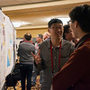 Showing off our science!  Poster session during the 2018 UNAVCO Science Workshop.  March 27, 2018.  Broomfield, Colorado.  (Photo/Shelley Olds, UNAVCO)
