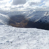 View from top of  Beinn Fhionndlaidh
