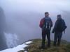 Julian and John on Stob Coire a'Chearcaill, Ardgour.