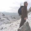 Julian on way up Sgurr Cos na Breachd-laoidh