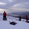 Packing away the climbing gear