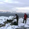 Julian and John at the summit of Sgurr Cos na Breachd-laoidh