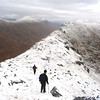 On the ridge to Druim a Chuirn
