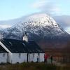 Blackrock Cottage & the Buachaille
