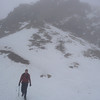 Gordon descending to Windy Gap, the col between Great Gable and Green Gable