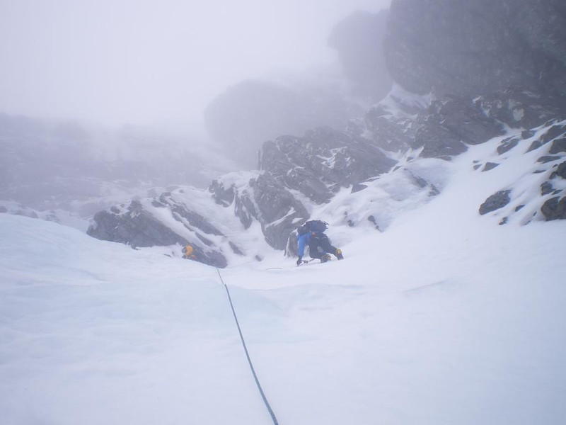 Start of No.3 Gully Buttress