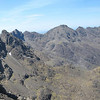 Andy on the cuillin ridge, pic taken looking north