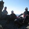 Jules, Andy and Jennifer on the ridge