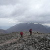 Martine, Alex and Gordon near the top of Stob Dubh