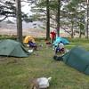 Camping in the woods, Glen Torridon